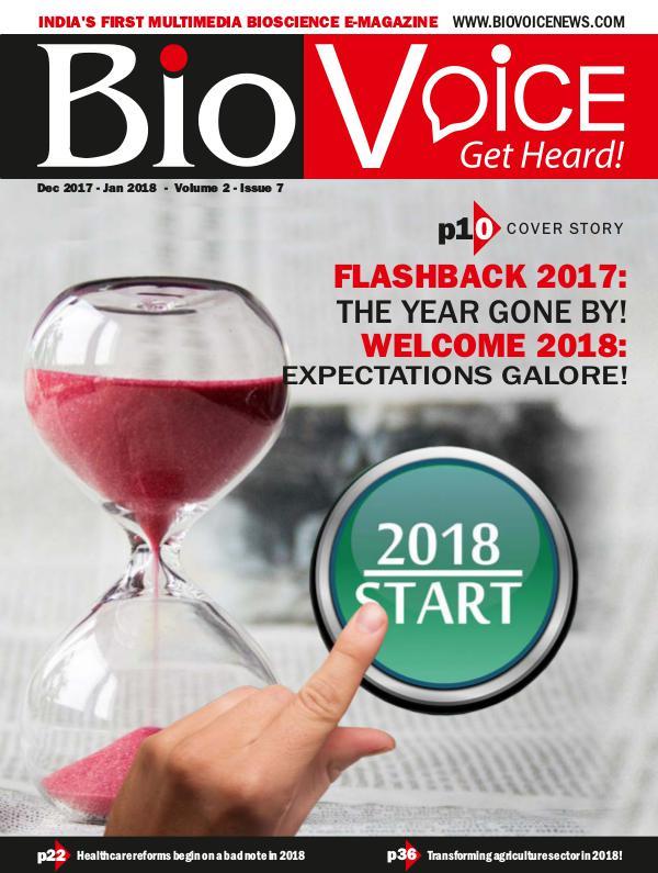 BioVoice News December 2017-January 2018 Issue 7 Volume 2