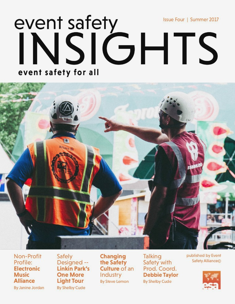 Event Safety Insights Issue Four | Summer 2017