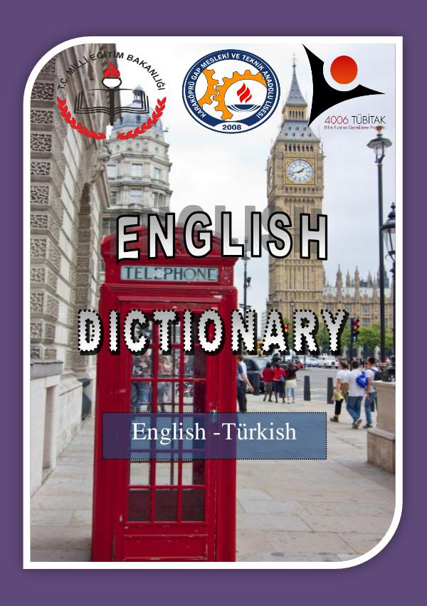 ILLUSTRATED ENGLISH DICTIONARY sözlük