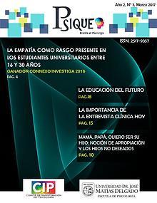 Revista Salvadoreña de Psicología: Psique