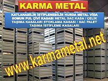 KARMA METAL metal tasima kasasi kasalari cesitleri boyutlari