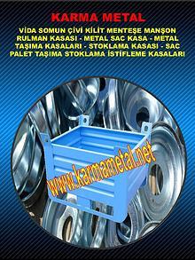 KARMA METAL- Metal Palet Tasima Kasalari Yedek Parca Tasima Kasalari