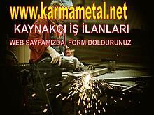 KARMA METAL-kaynakci demir dogramaci eleman is ilani ustasi