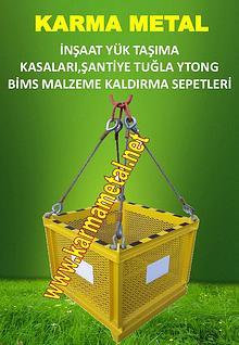 KARMA METAL-Kule-vinc-insaat-santiye-yuk-tugla-tasima-kaldirma-sepeti