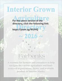 Interior Alaska Agriculture Directory