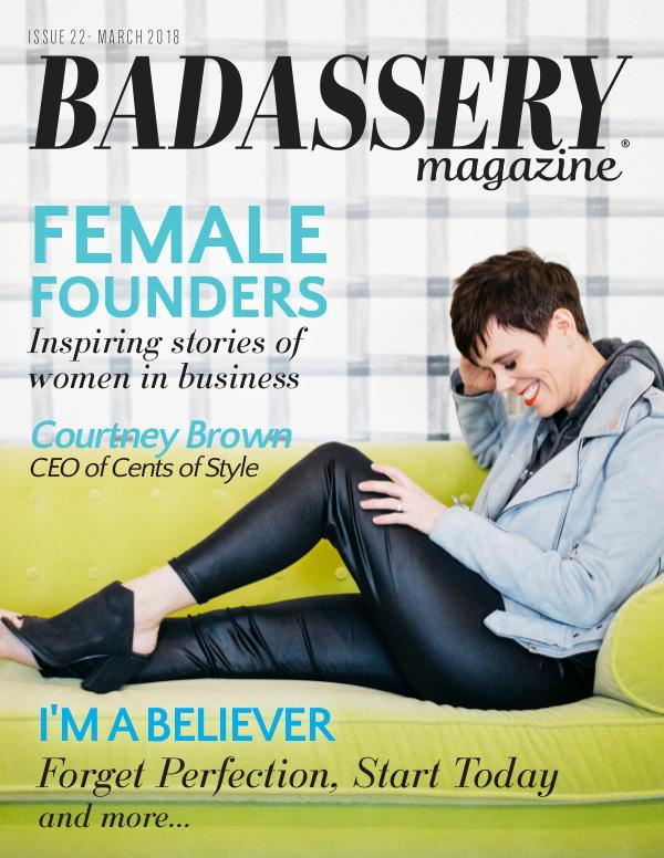 Badassery Magazine March 2018 Issue22