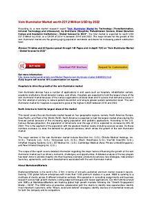 Vein Illuminator Market worth 227.2 Million USD by 2022