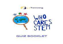 Who Cares STEM? Scientist Cards Quiz Booklet