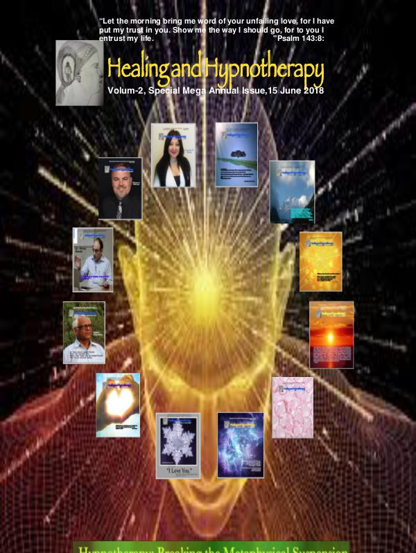 Healing and Hypnotherapy Volume 2, Special Mega Annual Issue, 15 June 2018