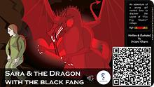 Sara and the dragon with black fang