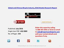 Bicycle Market Production 2016 Industry Trends in Global and China