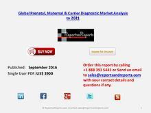 Global Prenatal, Maternal & Carrier Diagnostic Market