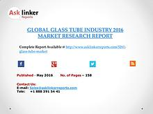 Global Glass Tube Market New Project Investment Feasibility Analysis