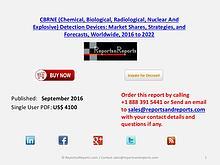 CBRN Explosive Detection Devices Market Forecast $9.8 Billion By 2022