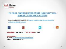 Global Sodium hydroxide Market 2016-2020 Report