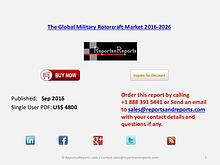 Military Rotorcraft Market - 2.59% CAGR Forecast to 2026