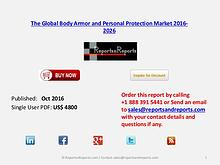 Body Armor & Personal Protection Market Forecast to 4.61% CAGR by2026