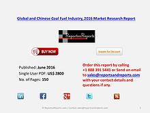 Coal Fuel Industry 2016-2021 Global and Chinese Market Forecast