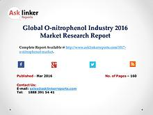 Global O-nitrophenol Market Product Specification and Cost Structure