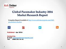 Pacemaker Market 2016 World's Major Regional Industry Condition