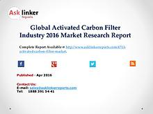 Global Activated Carbon Filter Market Production and Application