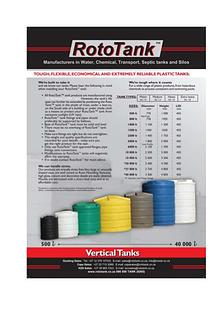 Rototank Type Tanks