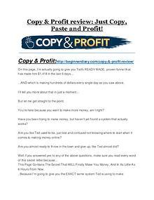Copy & Profit review-(MEGA) $23,500 bonus of Copy & Profit