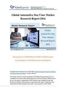 Global Automotive Sun Visor Market Research Report 2016
