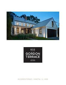 855 Gordon Terrace, Winnetka, Illinois Property Brochure
