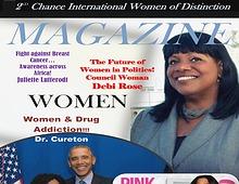 2nd Chance International Women of Distinction Magazine