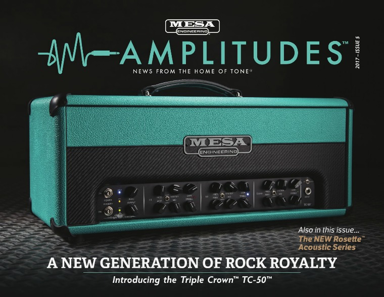 MESA/Boogie® Amplitudes™ ISSUE 5