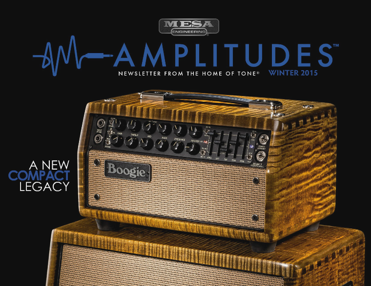 MESA/Boogie® Amplitudes™ ISSUE 1