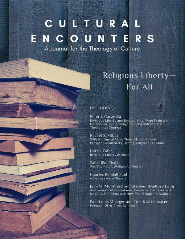 Cultural Encounters Volume 16, Number 1