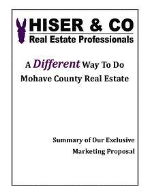Hiser & Co Exclusive Marketing Plan