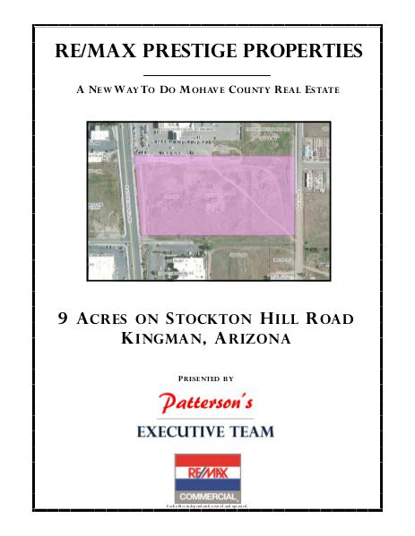 Mohave County Commercial Real Estate Stockton Hill Road 3720