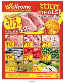 Wellcome Supermarket Weekend Sulit Deals