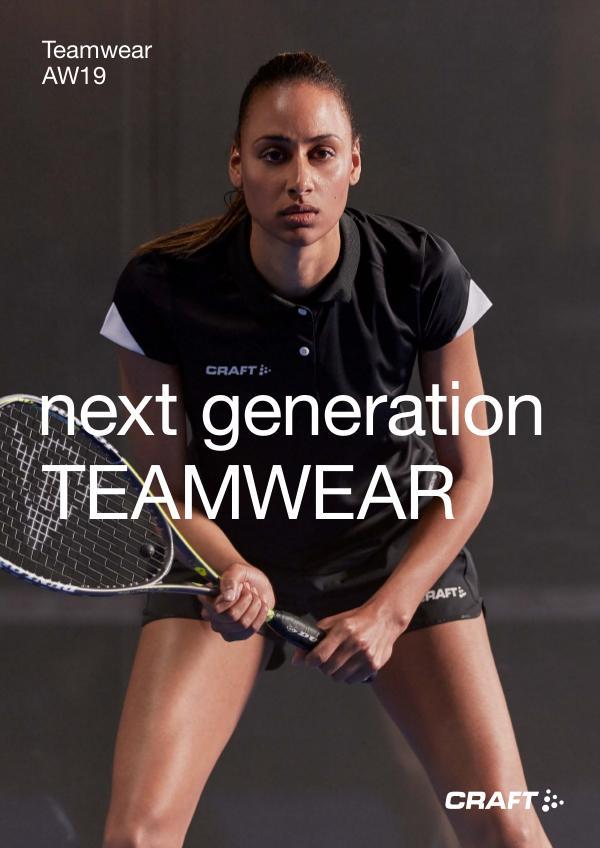 Teamwear Syksy / Talvi 2019 RETAIL