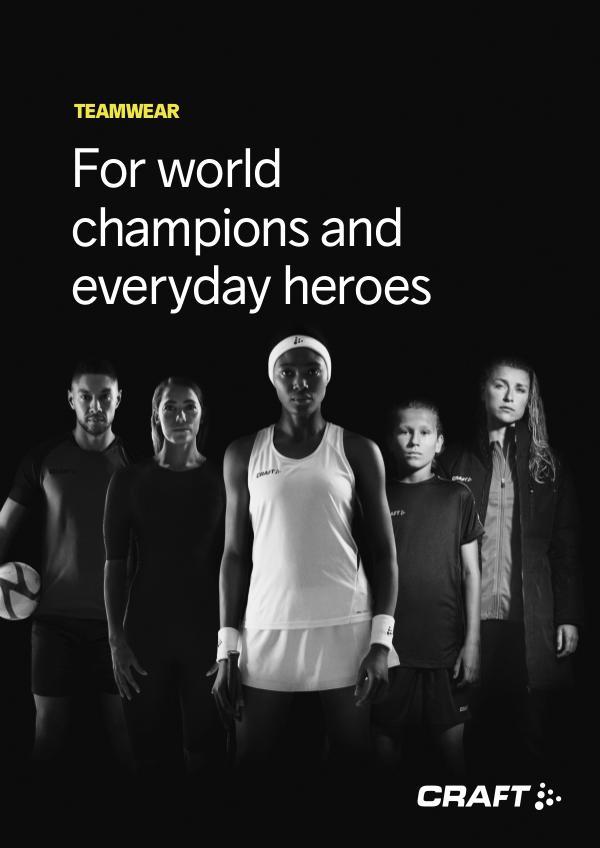 CRAFT Suomi Teamwear 2020 PROFIILI