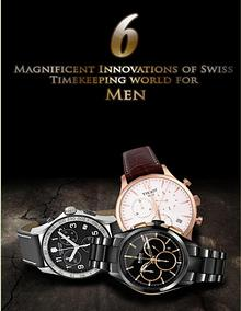 6 Magnificent Innovations of Swiss Timekeeping world for Men