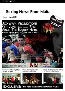 Malta Boxing Council News