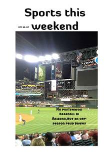 Az weekend sports