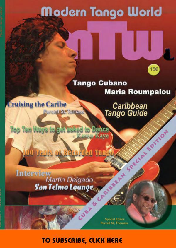 Modern Tango World N° 7 (Havana, Caribbean)