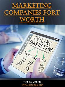 Marketing Companies Fort Worth   intellisea.com