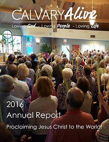 Calvary Alive Newsletter