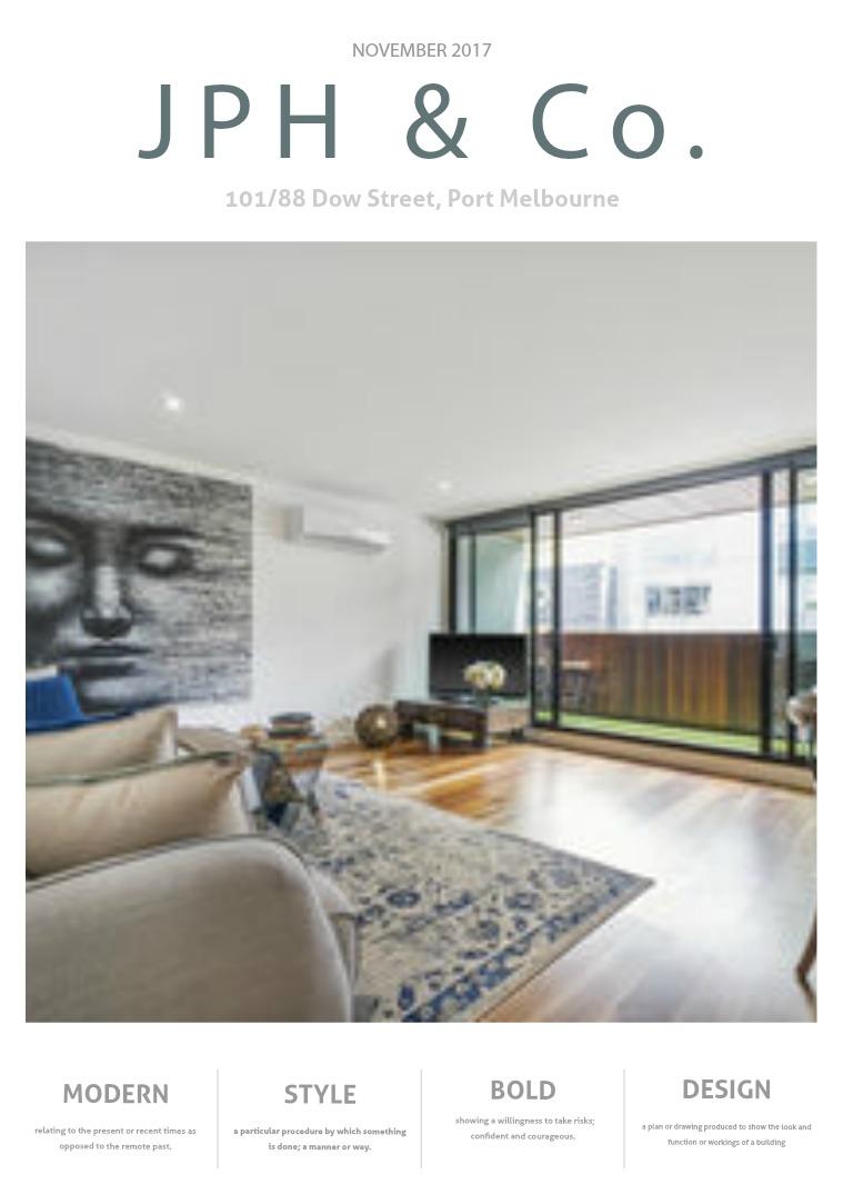 JPH & Co Real Estate 101/88 DOW STREET, PORT MELBOURNE