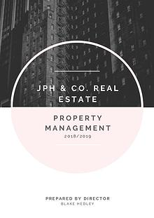 JPH & Co Real Estate - Rental Management