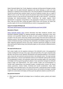 Global Telehealth Market Analysis 2017