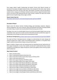 Acne vulgaris Market : Epidemiology and Market Forecast 2023 Report