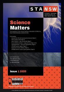 Science Matters Quarterly Newsletter (2020)