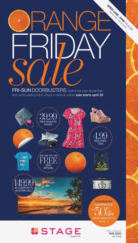 Orange Friday Sale Catalog Orange Friday Sale